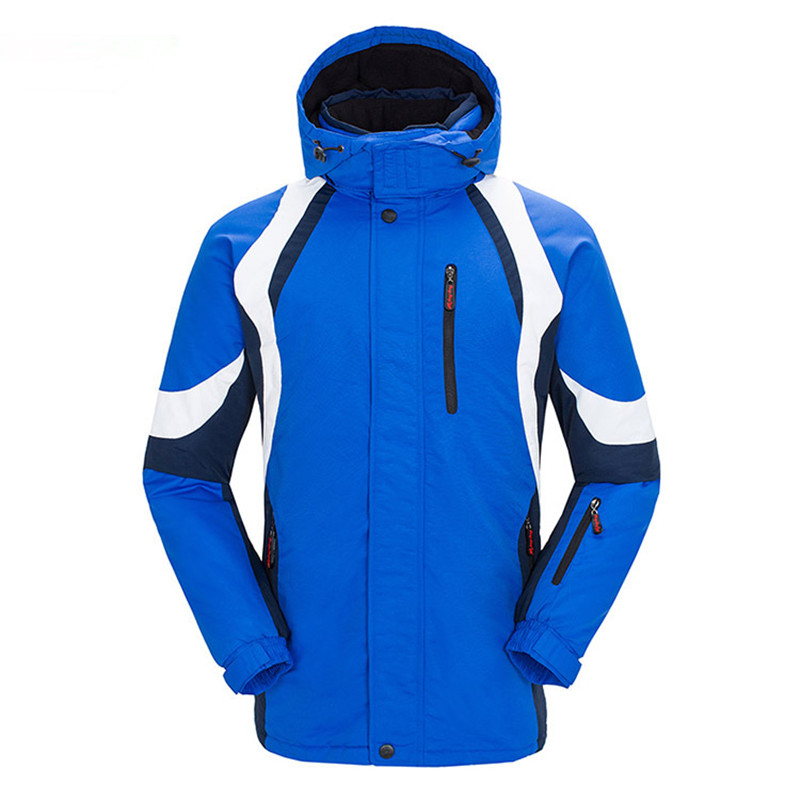 купить Winter Plus Size Outdoor Skiing Jackets Mens Sport Hiking Camping Warm Clothing Thick Waterproof Coat Men Fleece Jacket Thermal дешево