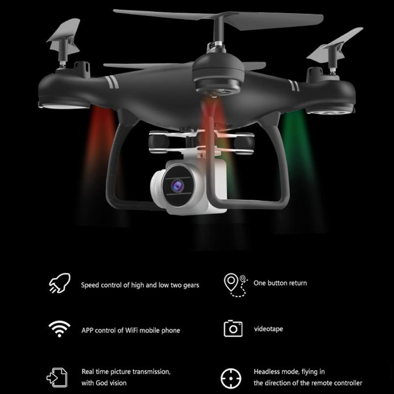 RC helikopter kamera Drone Profissional drony 1080p WiFi FPV