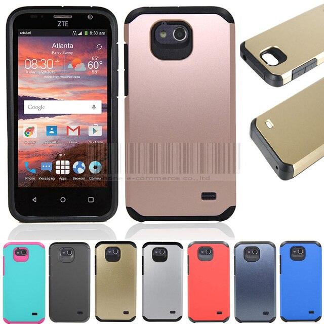 Phone Case For ZTE Fanfare/Overture 2/Maven Z812 Slim Hybrid Shockproof Armor Case Hard Protective Cover