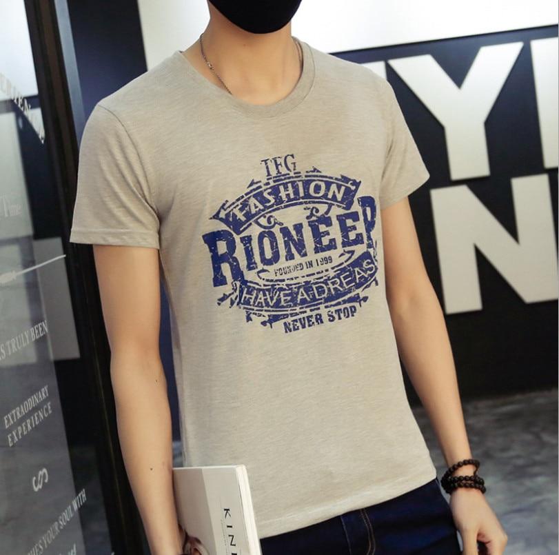 2018 Summer Letter Print Hip Hop T Shirt Mens Cotton Cartoon Cosplay o-neck T-shirts Summer Skateboard Tee Boy Skate Tshirt Tops