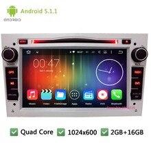 Quad Core Android 5.1.1 7″ 1024*600 Car DVD Player Radio GPS PC Stereo Screen For Opel Vauxhall Corsa Astra Antara Zafira Vectra