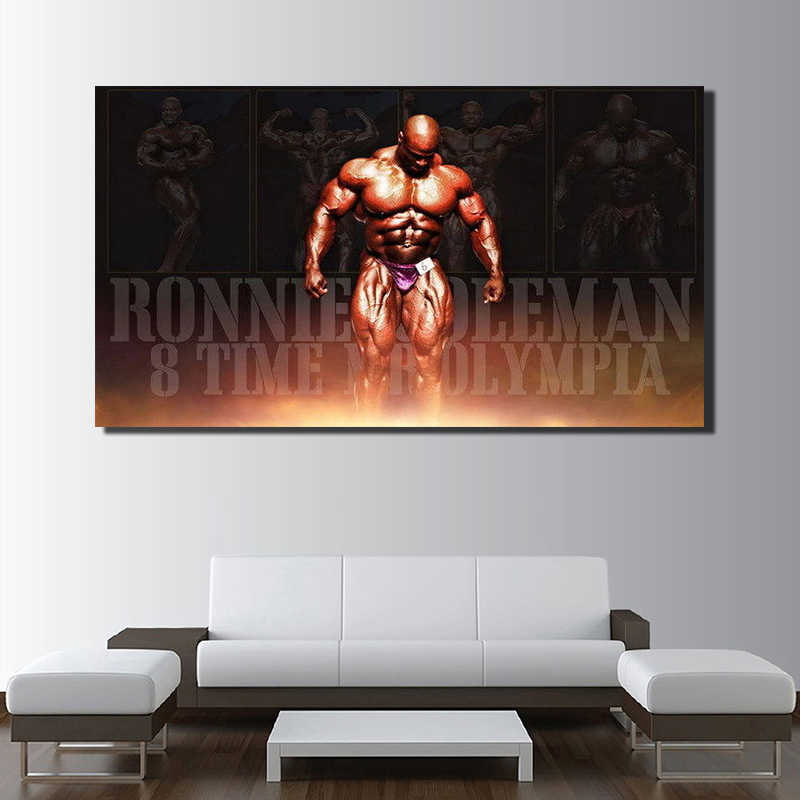 "34 Ronnie Coleman-Bodybuilder Mr Olympia vs Arnold Art 23 ""x 14"" Poster"
