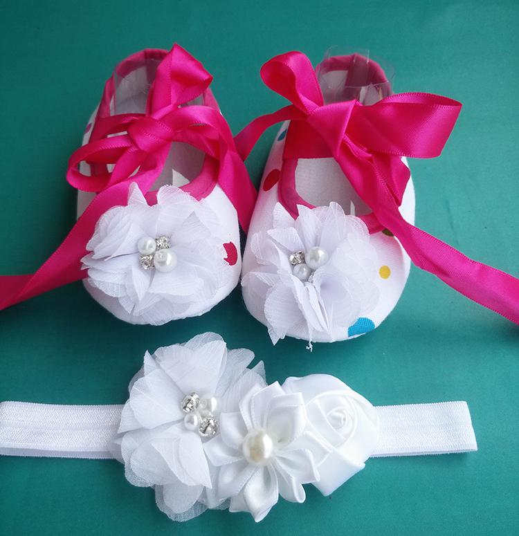 cheep beb recin nacido bautismal zapatos infantil del nio del beb de la tela botines