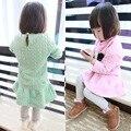 Anlencool bebê roupas de menina definir roupas tie a pequena raposa novo inverno das crianças coreanas culottes além de veludo terno crianças roupas