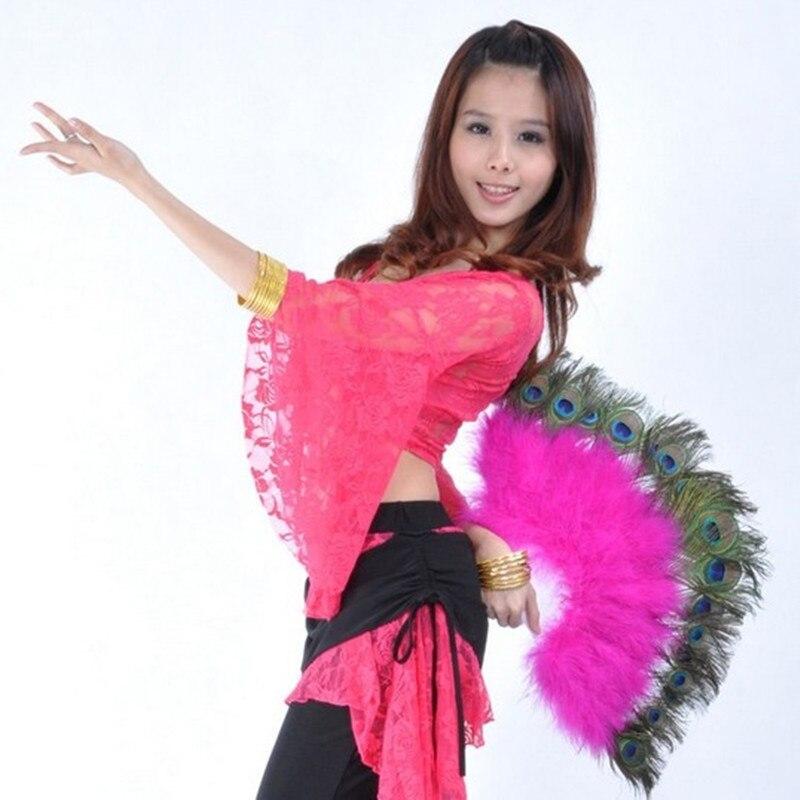 Egipcia danza del vientre Accesorio de la Danza Del Vientre Abanico ...