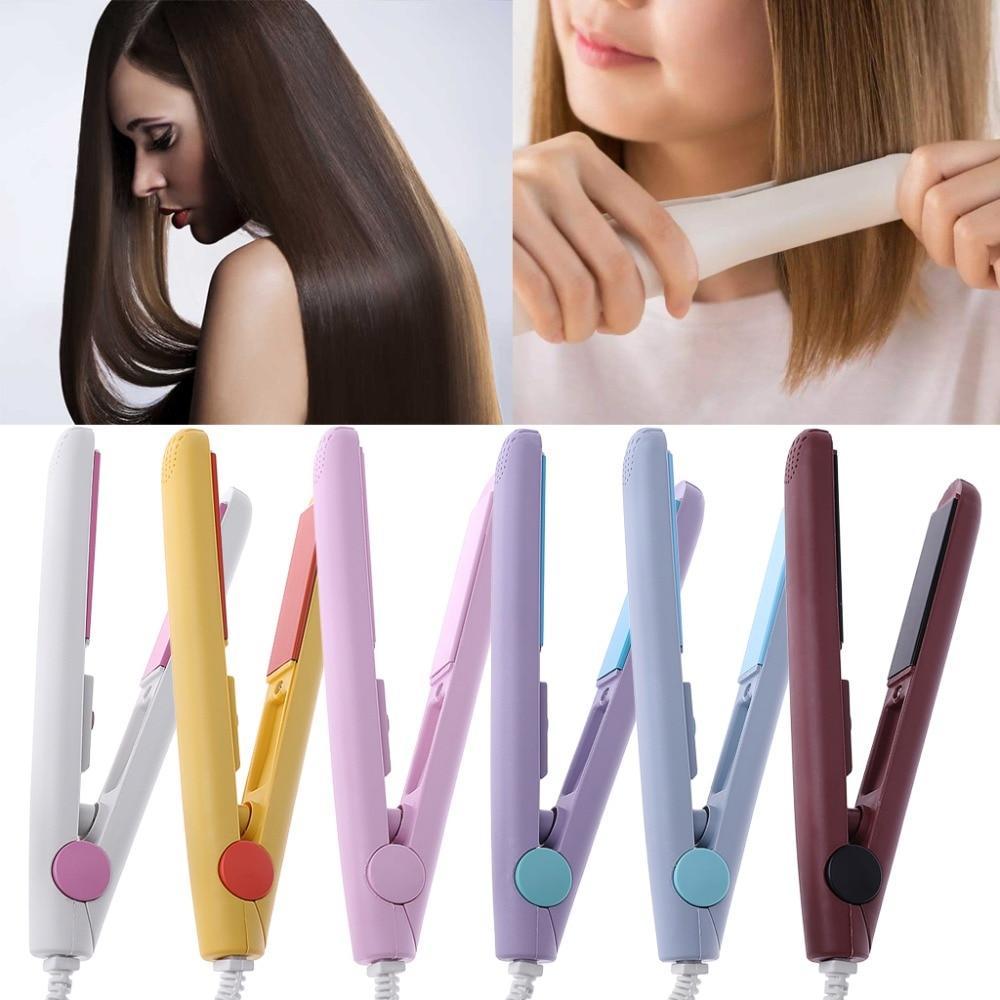 Kemei Fashion Mini Hair Straightener Professional Flat Irons