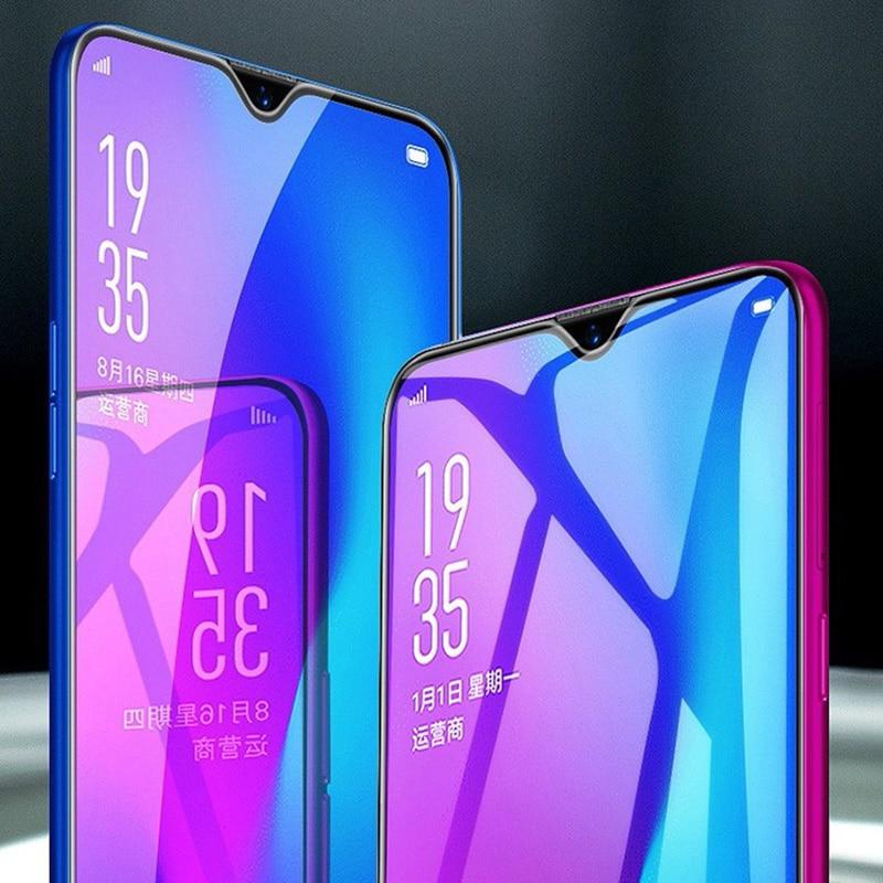 Redmi 7 Note7 Pro Anti niebieski szkło hartowane Xiaomi Redmi Note 7 Pro szkło Xiaomi Redmi 7A K20 Pro pełny pokrywa folia ochronna na ekran 5