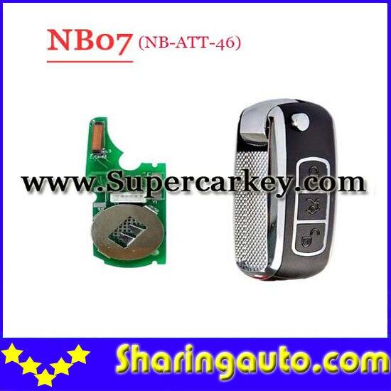 bilder für Freies verschiffen (1 Stück) Keydiy KD900 NB07 3 knöpfen fernschlüssel mit NB-ATT-46 für Touareg, A8, Renault etc