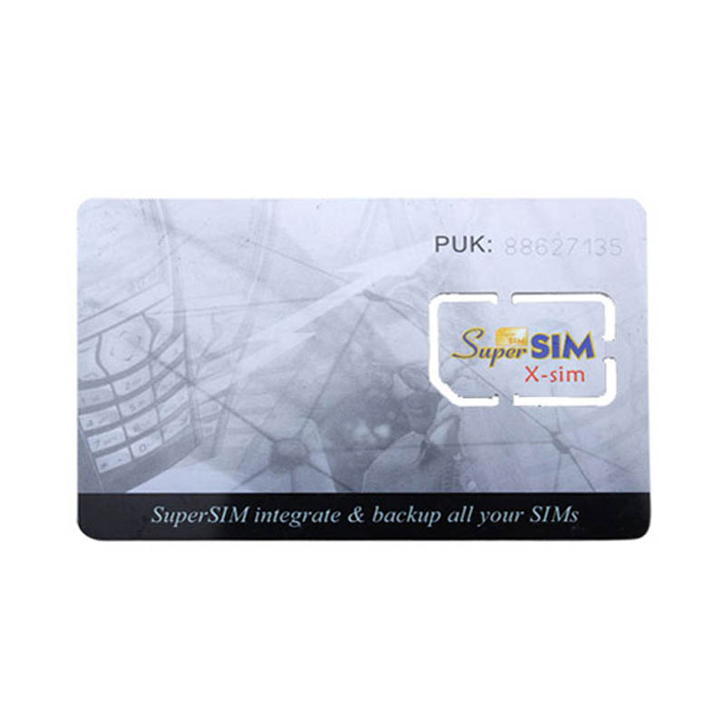 NEW 16 In 1 Max SIM Cell Phone Magic Super Card Integrate Backup All  X-Sim Blank Standard Mini SIM Card  ND998