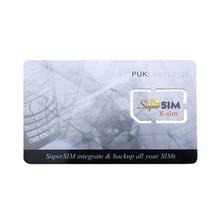 NEW 16 in 1 Max SIM Cell Phone Magic Super Card Integrate Backup all  X-Sim Blank Standard Mini SIM Card  ND998 all new x men inevitable volume 1