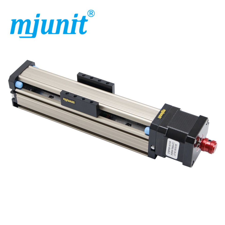 Mjunit Micro Precision 42 Linear Stepping Motor Guide Rail Slide Table Available z axis Wire Rod Rail with 200 Stroke