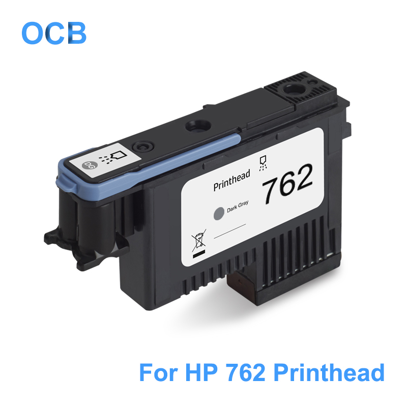 For HP 762 DesignJet Printhead CN074A Dark Gray Print Head Compatible For HP Designjet T7100 T7200 Printer Head (DGY) image