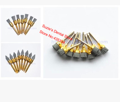 60pcs NEW Assorted Silicon Carbide Polishing Polisher Brushes Latch Type 20 Each