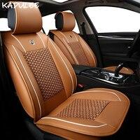 Чехлы для сидений автомобиля KADULEE ice silk для mazda 626 toyota c hr rav4 prius kia cerato k3 hyundai accent авто аксессуары для автомобиля Стайлинг