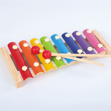 New product Toy Wooden Frame Music Instrument Style XylophoneToys Baby Educational Toys Gifts Children Kids Musical Funny