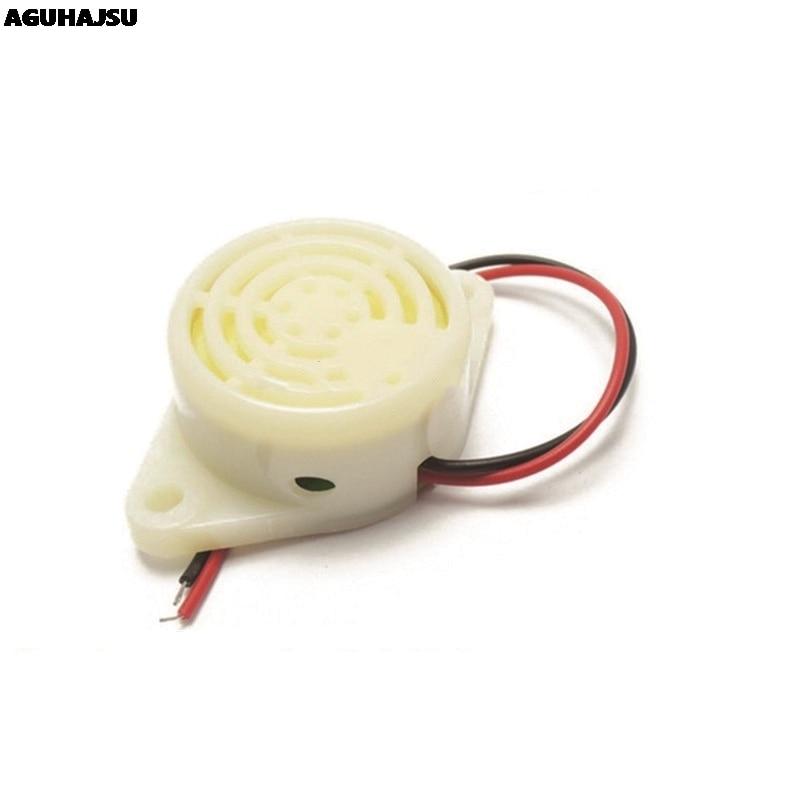 1 шт./лот 95DB сигнал тревоги высокой частоты 3-24V 12V Электронный звуковой сигнал тревоги прерывистый непрерывный звуковой сигнал для Arduino SFM-27