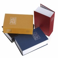 Home Security Simulation Dictionary Book Case Cash Money Jewelry Locker Secret Safe Storage Box With Key
