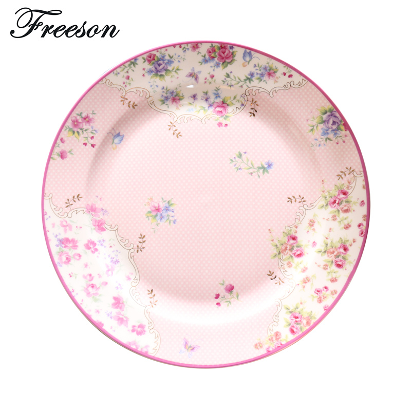 Europe Pastorale Bone China Cake Dishes And Plates British Porcelain Pastry Fruit Dinnerware Ceramic Tableware Steak Tray-in Dishes \u0026 Plates from Home ...  sc 1 st  AliExpress.com & Europe Pastorale Bone China Cake Dishes And Plates British Porcelain ...