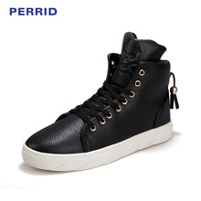 New Winter High Ancient Men's Brand Men's Skateboarding Shoes Lace Up Sneakers For Men High Upper Flat Shoes Sport Shoes