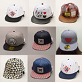 2016 Simple  Letter Baseball Cap Sons Bones Snapback Hip Hop Fashion Flat Hat for Kid Boys And Girls Casquette  Free Delivery