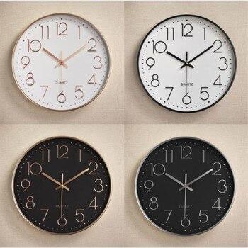 51bfa1fd911b 12 pulgadas C reactiva Reloj de pared de plástico escala Digital reloj de cuarzo  para habitaciones de niños