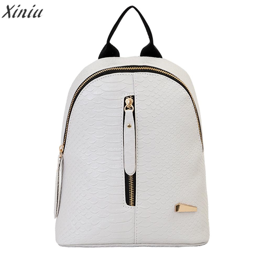 hot sale Backpack Women Leather Backpacks School Bags For Teenagers Travel Bags high quality Mochila Feminina sac a dos#5 hot sale women s backpack the oil wax of cowhide leather backpack women casual gentlewoman small bags genuine leather school bag