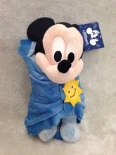 Baby Mickey Mouse in a Blanket Plush Doll 30cm Mickey Mouse Plush Toys