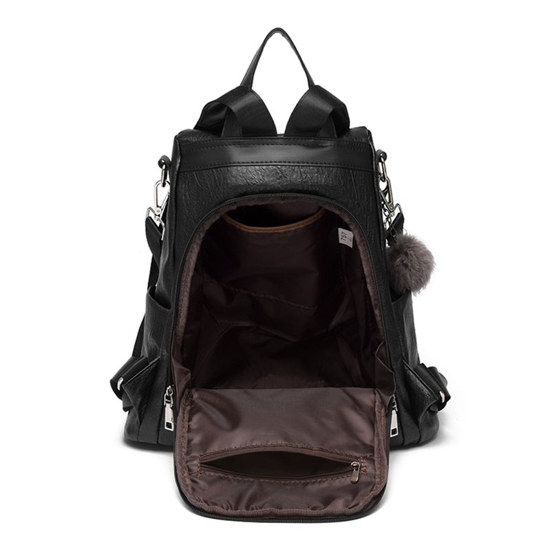 Nevenka 2018 Women Backpacks Fashion Leather Satchel Bags Sac Zipper Bags Casual Shoulder Bags Mochila14