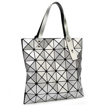 Настоящее фото 2015 топ-дизайна высокая quailty складной лазерная конверт мешки геометрические линга женщин сумки