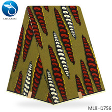 LIULANZHI African prints wax fabric 2019 100% cotton Dutch Woven african batik dutch ML9H1750-ML9H1770