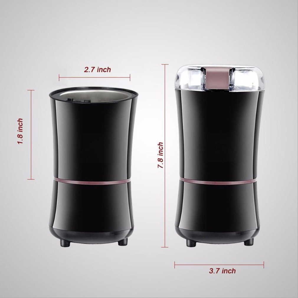 150W Electric Corn Wheat Grinder Nut Mill Cast Iron Big Hopper Grain Tin Grinder Maker Kitchen Tool fit for 2 3 people