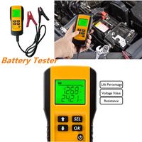 12V Digital Auto Car Vehicle Battery Tester LCD Automotive Digital Display Electricity Diagnostic Tools Car Battery Tester