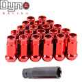 DYNO RACING Muki SR48 tuner LUG NUTS 12X1.25   ACORN RIM EXTENDED OPEN END