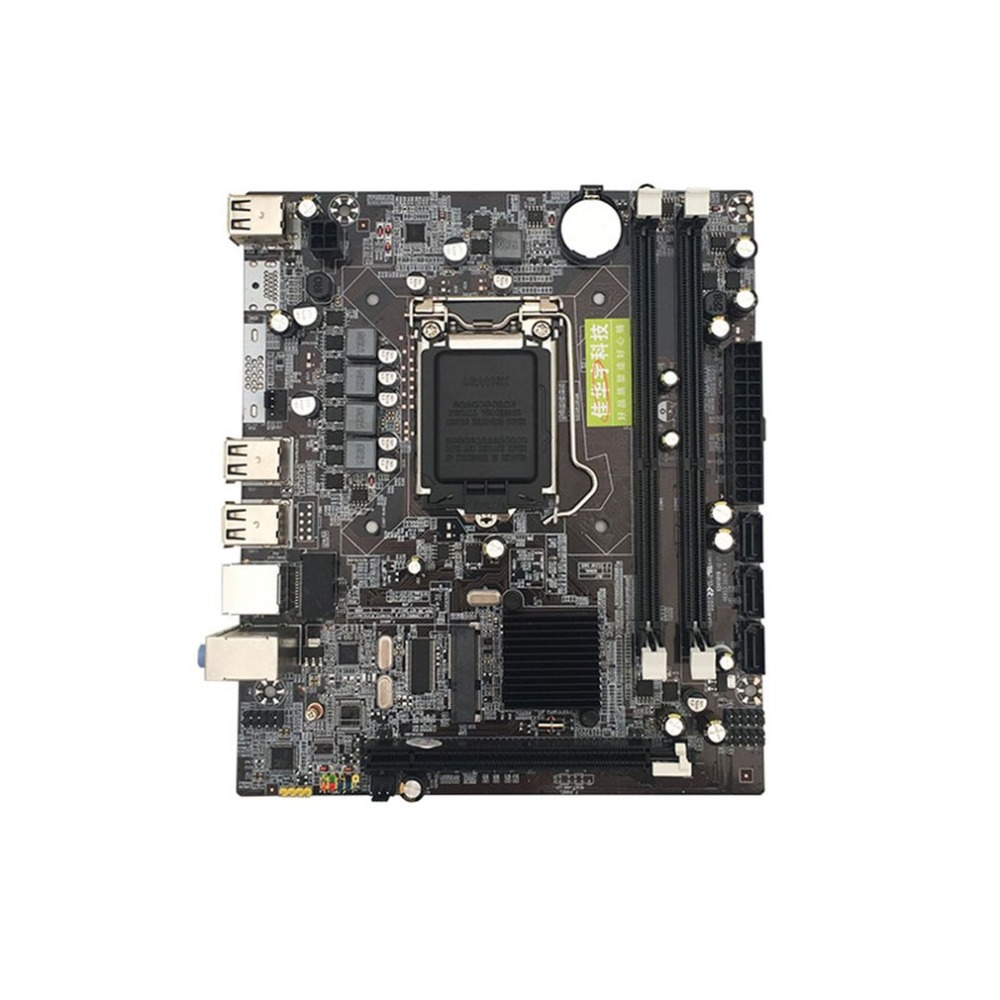 P55 computer motherboard 1156 pin Support For Core i3 i5 i7 Xeon series CPU alone replace H55 For Computer image
