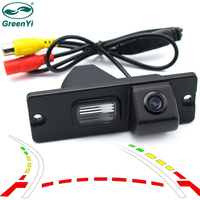 New Parking Assistance Intelligent Dynamic Trajectory Tracks Car Rear View Vehicle Camera For Mitsubishi Pajero V3
