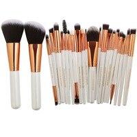 20/22Pcs Beauty Makeup Brushes Set Cosmetic Foundation Powder Blush Eye Shadow Lip Blend Make Up Brush Tool Kit Maquiagem Eye Shadow Applicator