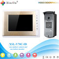 Xinsilu V70C-ID  Doorbell Camera With 4.3inch Door Viewer Indoor Monitor Out Door Phone Bell Video Photo IR Voice Unlock