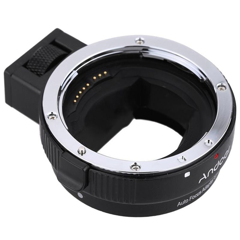 Auto Focus AF Lens Adapter Ring for Canon EF EF-S to SONY E-Mount NEX A7 F5Q2