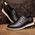 Высокое качество Нового мужчины обувь из натуральной кожи лето Дышащий квартиры случайные вождения обувь Бизнес Платье Обувь Марка Оксфорд Обувь