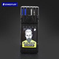 Staedtler Neon Pen Ballpoint Pen Mechanical Pencil Pen Multifunctional Set 34SB6B