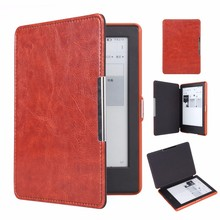 for amazon kindle 8 2016 cases Magnet clasp luxury Flip leather case cover for new kindle 2016 8th generation fundas