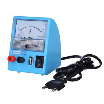 110V-240V DC Power Supply For Mobile Phone Repair DC Regulated Power Supply Ammeter 3A 5V With Short Circuit Protection