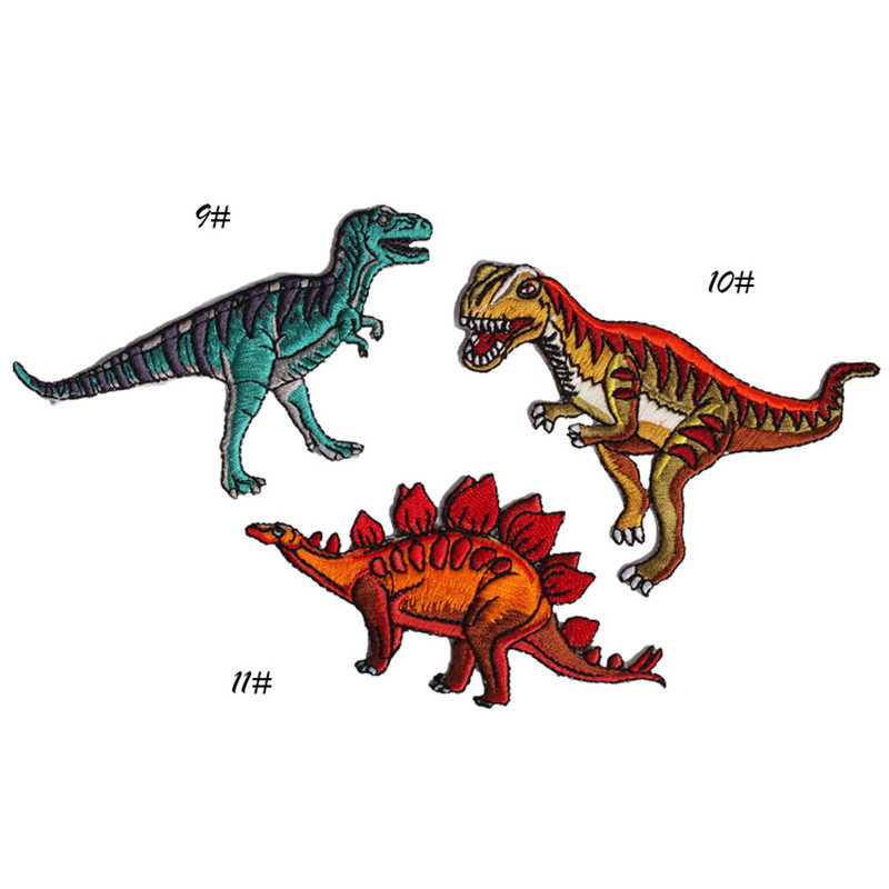 Tienda Online 1 unids paño dinosaurio Parches badge MEND decorar ...