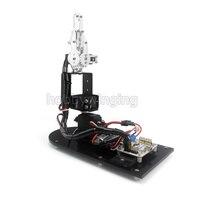 3 DOF רובוט מתכת סגסוגת קלאמפ Claw זרוע מכאנית w/Servos לarduino רובוטית חינוך 3pcsMG996R