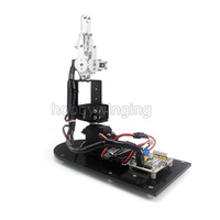 3 DOF Robot Metal Alloy Mechanical Arm Clamp Claw w/ 3pcsMG996R Servos for Arduino Robotic Education