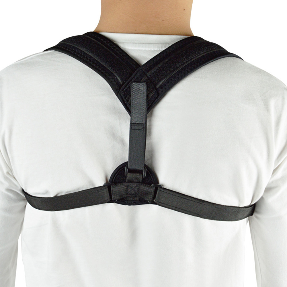 Rubber Back Support Posture Corrector Comfortable Medical Figure Relief Cervical Neck Thoracic Pain Strap Belt Dropshipp