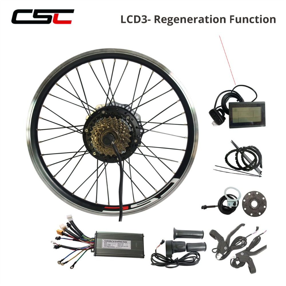 36V Electric Bike Accessories Kit with bldc Controller and Display MTB road bicycle parts Ebike Accessories