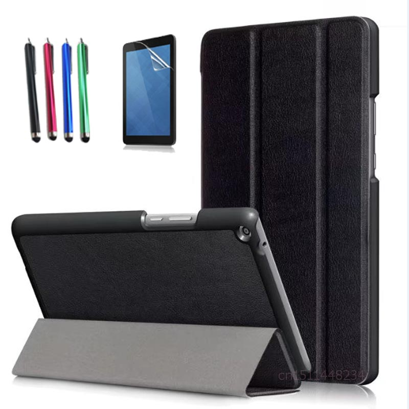 for Huawei MediaPad T3 8.0 KOB-L09 KOB-W09 Tablet Cover, ultra-thin PU Leather Case for Honor Play Pad 2 8.0 magnetic Stand case folio slim cover case for huawei mediapad t3 7 0 bg2 w09 tablet for honor play pad 2 7 0 protective cover skin free gift
