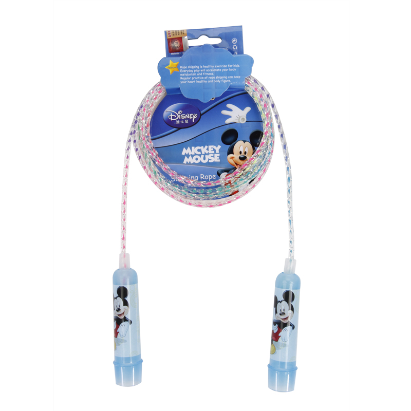 MICKY FROZEN SOFIA 8 Feet PP+PVC Rainbow Rope Fitness Speed Children Exercise Gym Jump Rope