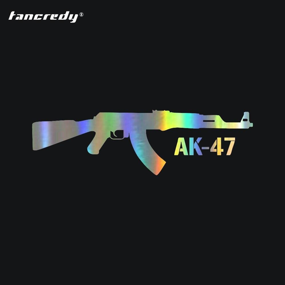 "AK47 Kalashniko Bolt Face Decal Sticker Funny Vinyl Car Window Bumper Truck 6/"""